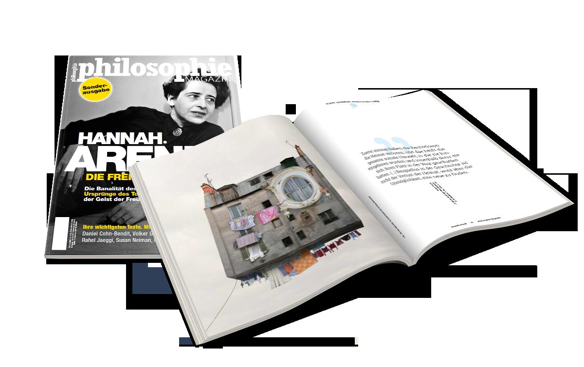 Philosophie Magazin // Art Direction & Editorial Design // 2016