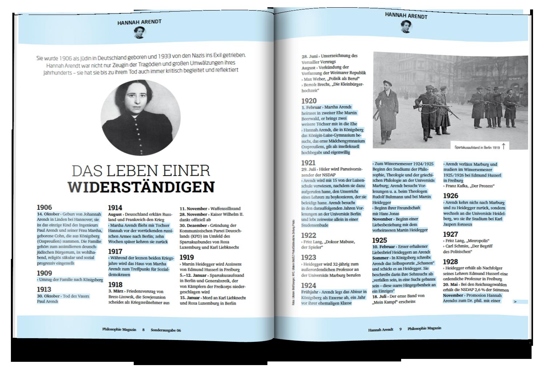 Philosophie Magazin // Art Direktion & Editorial Design // 2016