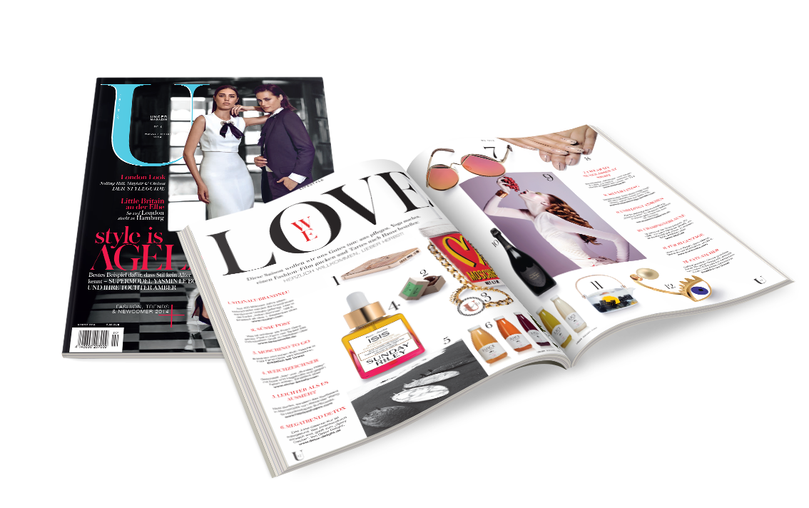U-Magazine #2 // Art Direction & Editorial Design // 2014